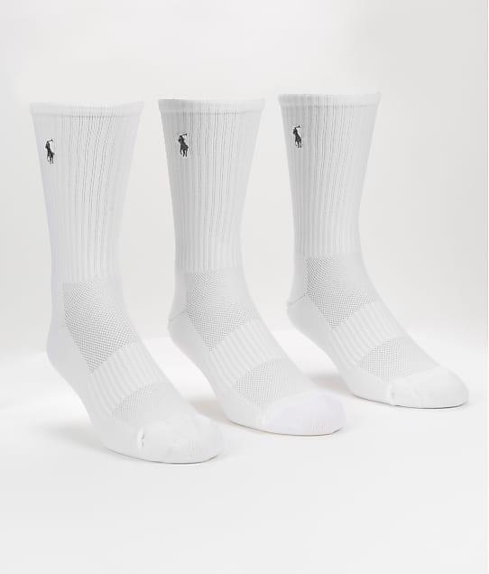 Polo Ralph Lauren: Tech Athletic Crew Socks 3-Pack