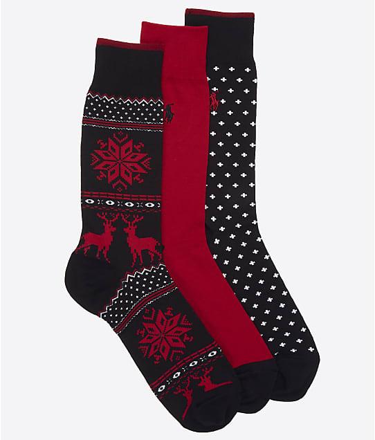 Polo Ralph Lauren: Holiday Fairisle Crew Socks 3-Pack