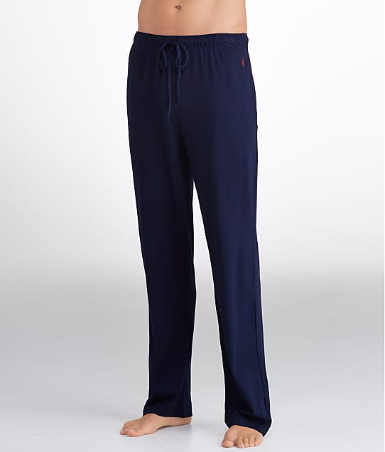 Polo Ralph Lauren Supreme Comfort Knit Pajama Pants in Cruise Navy L047