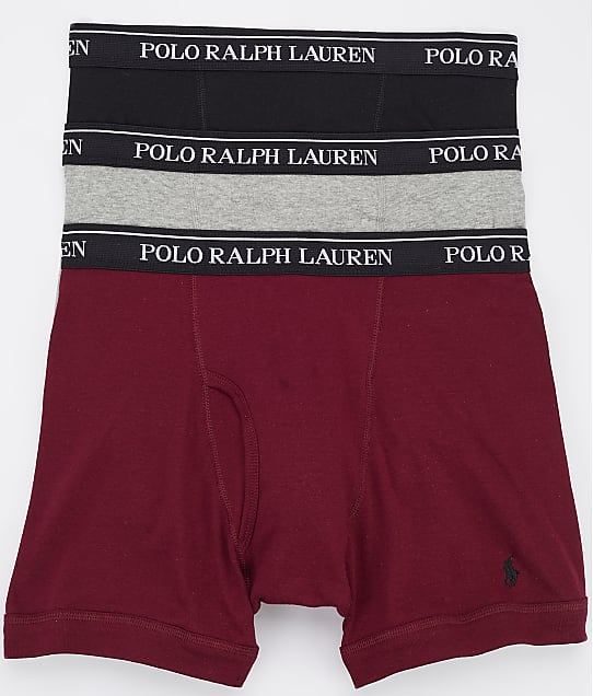 Polo Ralph Lauren: Classic Cotton Boxer Brief 3-Pack