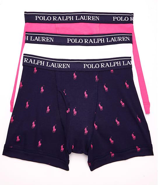 Polo Ralph Lauren: Classic Cotton Boxer Brief 3-Pack