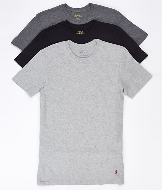 Polo Ralph Lauren: Classic Crew Neck T-Shirt 3-Pack