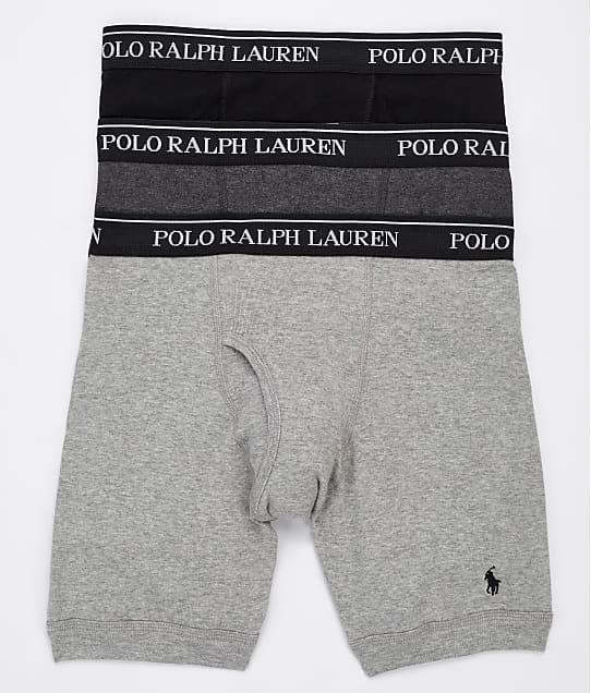 Polo Ralph Lauren: Classic Fit Long Leg Boxer Brief 3-Pack