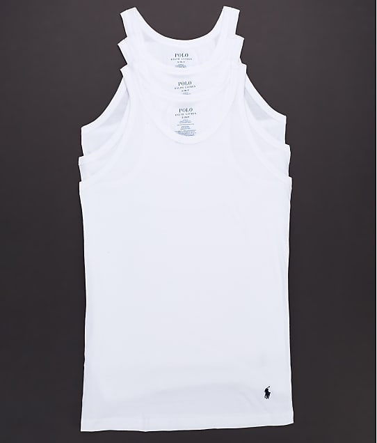 Polo Ralph Lauren: Slim Fit Tank 3-Pack