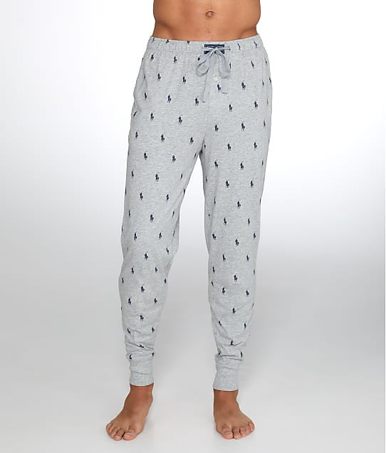 Polo Ralph Lauren Knit Jogger Lounge Pant in Andover Heather PK08RL