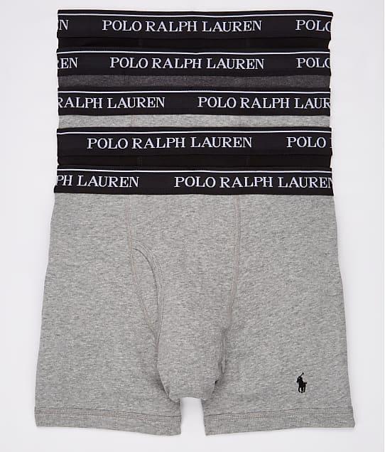 Polo Ralph Lauren: Classic Fit Cotton Boxer Brief 5-Pack