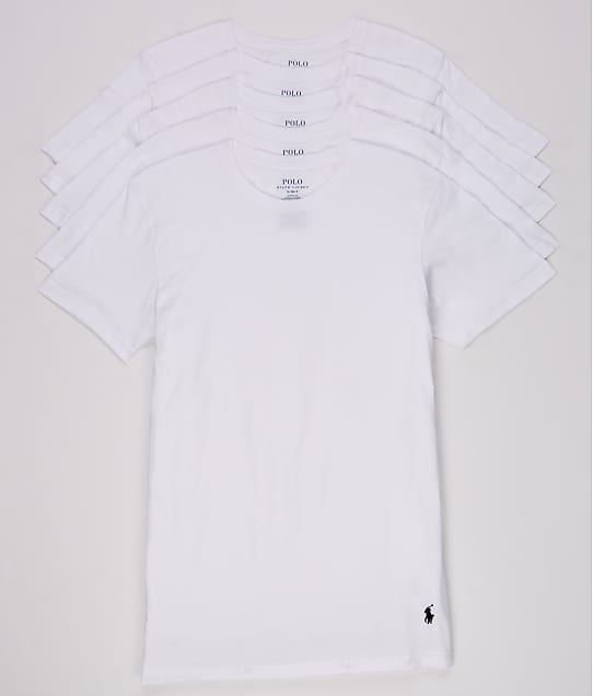 Polo Ralph Lauren: Classic Fit Cotton T-Shirt 5-Pack