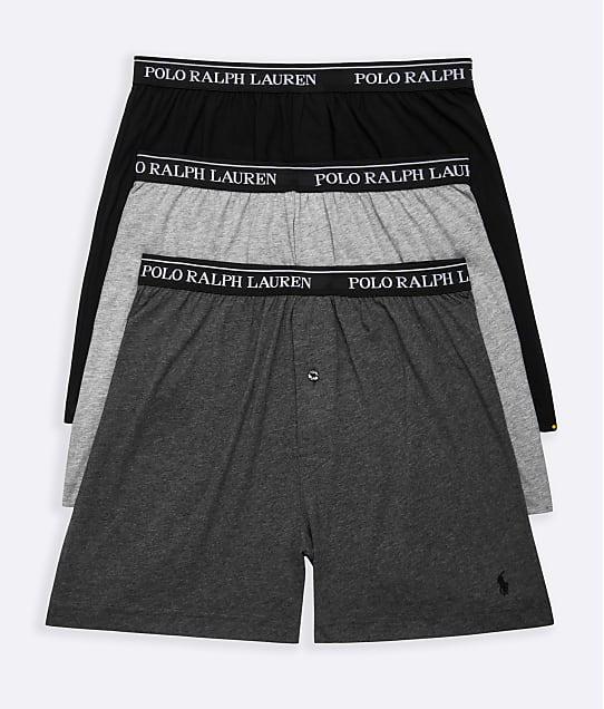 Polo Ralph Lauren: Classic Fit  Cotton Boxers 3-Pack