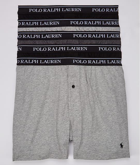 Polo Ralph Lauren: Classic Fit Cotton Boxers 5-Pack