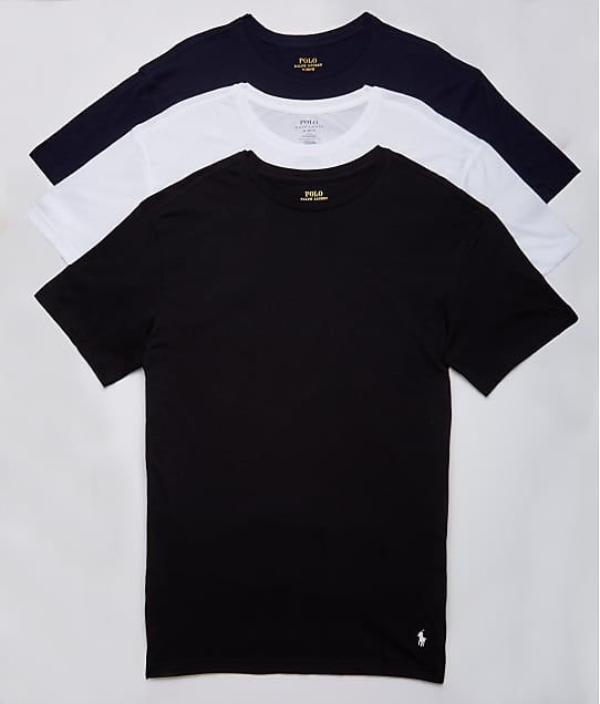 Polo Ralph Lauren: Classic Fit Cotton T-Shirt 3-Pack
