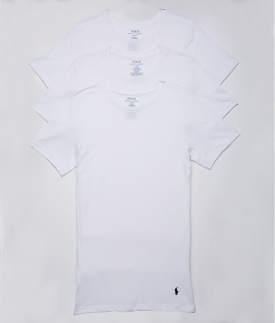 Polo Ralph Lauren: Slim Fit Cotton T-Shirt 3-Pack