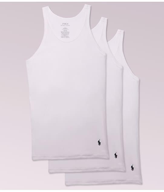 Polo Ralph Lauren: Classic Slim Fit Cotton Tanks 3-Pack