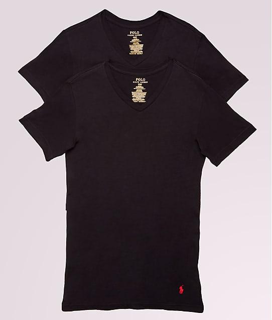 Polo Ralph Lauren: Classic Tall Cotton V-Neck T-Shirt 2-Pack