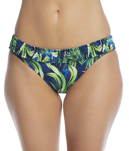 Pour Moi Free Spirit Palm Frill Bikini Bottom in Palm 13213-PALM
