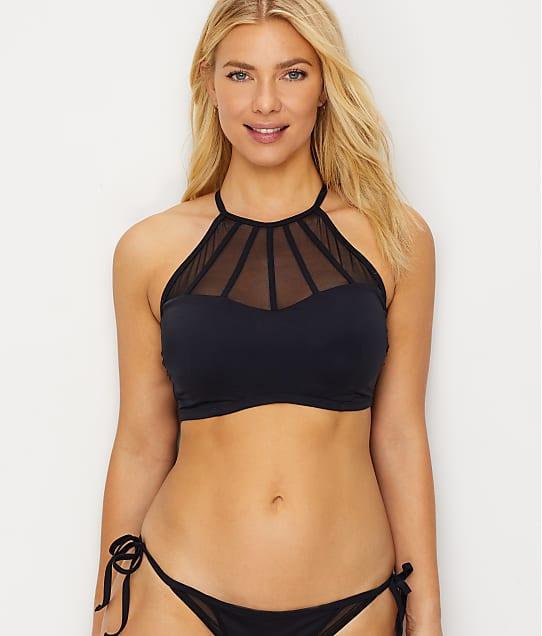 Pour Moi: Space High Neck Bikini Top