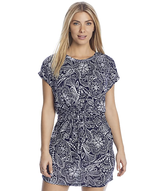 Pour Moi: Navy Scandi Dress Cover-Up