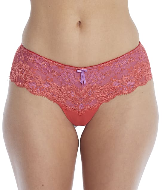 Pour Moi Amour Shorty in Orange / Ultraviolet(Front Views) 1503