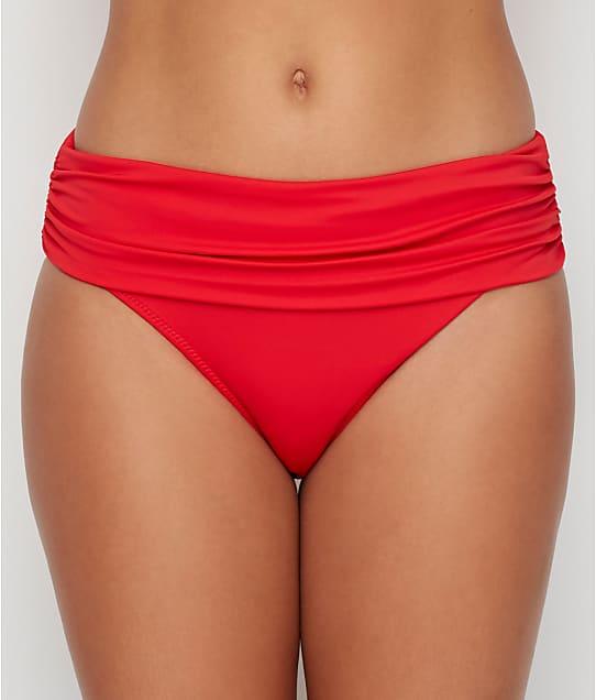 Pour Moi: Santa Monica Solid Fold-Over Bikini Bottom