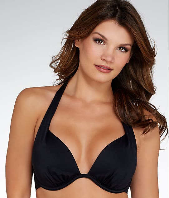 Pour Moi: LBB Halter Push-Up Bikini Top