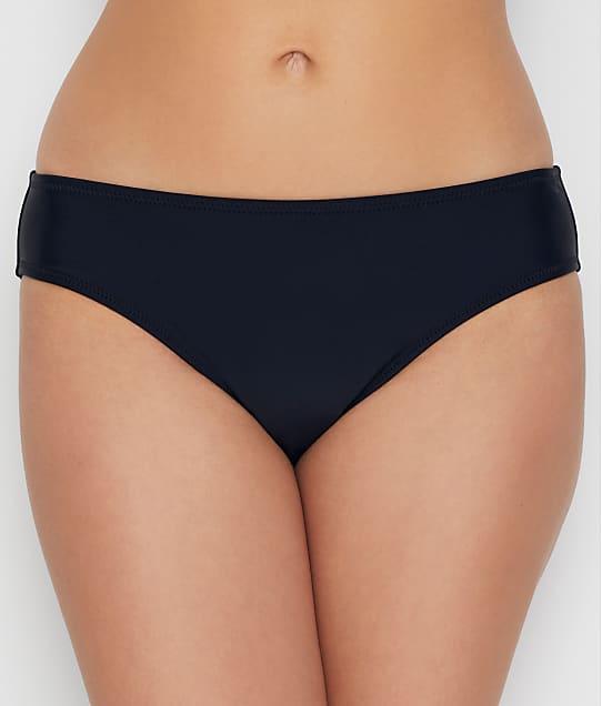 Pour Moi Space Hipster Bikini Bottom in Black 36041