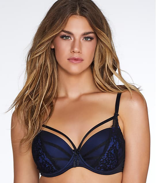 Pour Moi: Hush Padded Lace Cage Bra