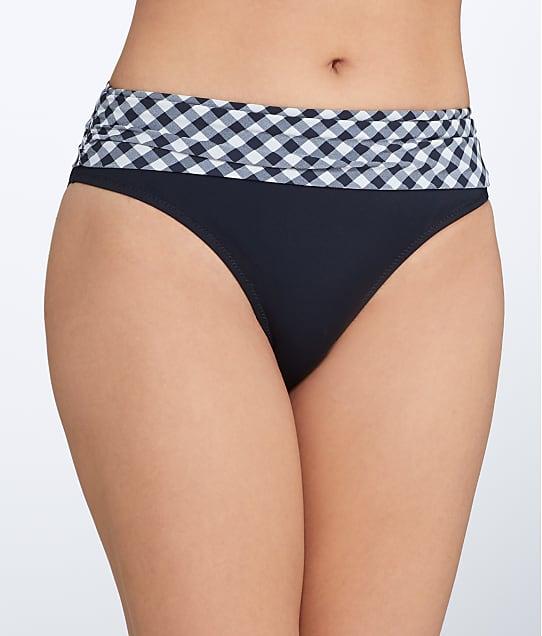 Pour Moi: Checkers Fold-Over Bikini Bottom