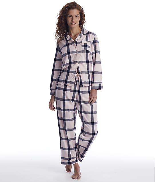 Pour Moi: Plaid Flannel Pajama Set