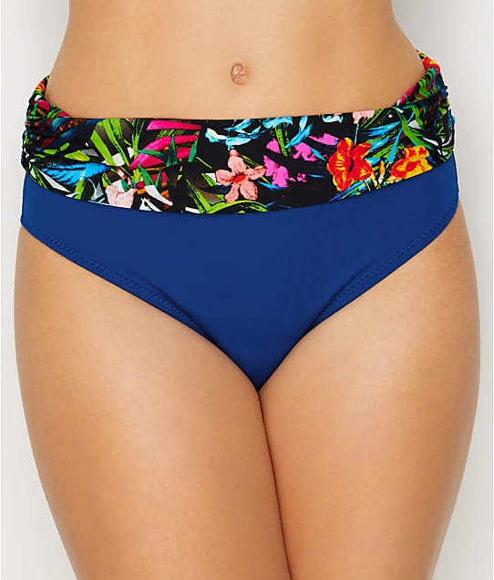 Pour Moi: Costa Rica Fold-Over Bikini Bottom