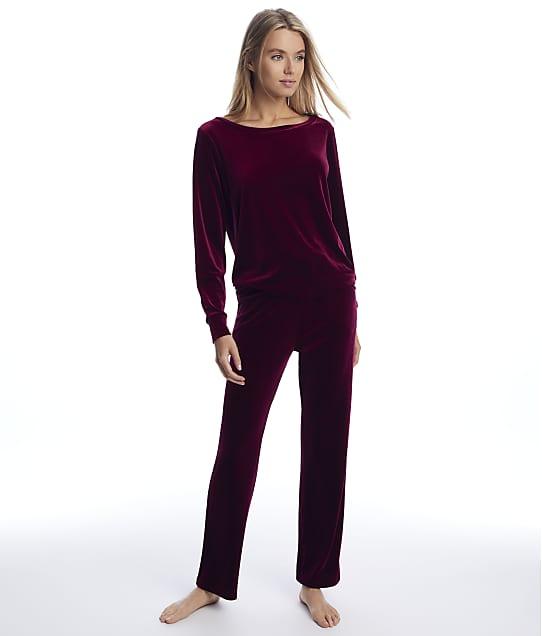 Pour Moi: Velour Pajama Set