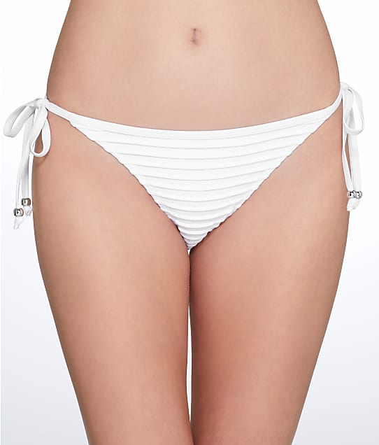 Pour Moi: Pleated Tie-Side Bikini Bottom