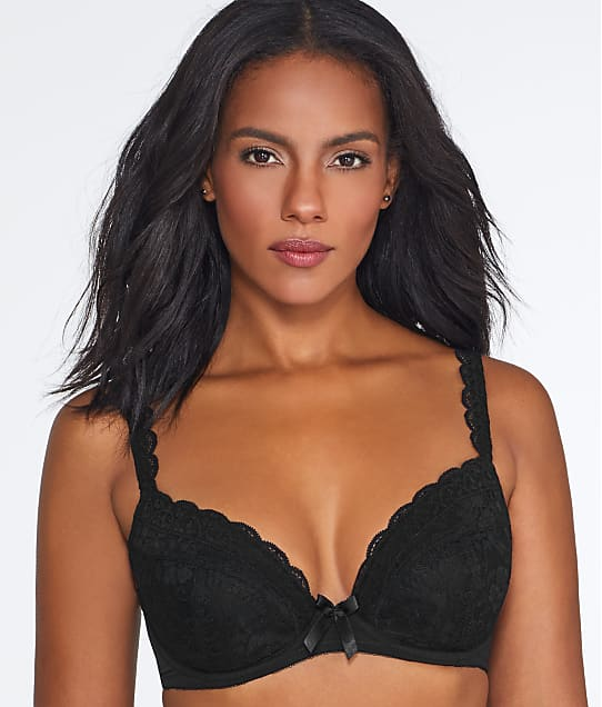 Pour Moi: Rebel Push-Up Plunge Bra