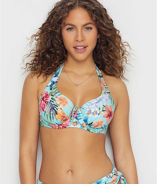 Pour Moi: Heatwave Tahiti Halter Bikini Top