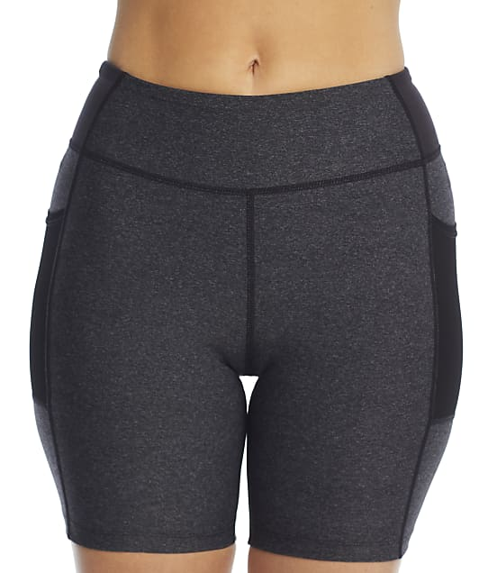 Pour Moi Energy Bike Shorts in Grey Marl / Black(Front Views) 97119