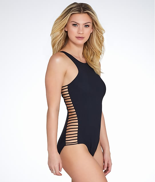 Profile by Gottex On The Beach Wire-Free One-Piece in Black E770-2055