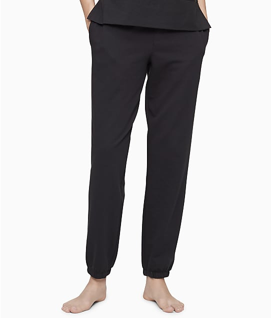 Calvin Klein Knit Lounge Joggers in Black(Full Sets) QS6705