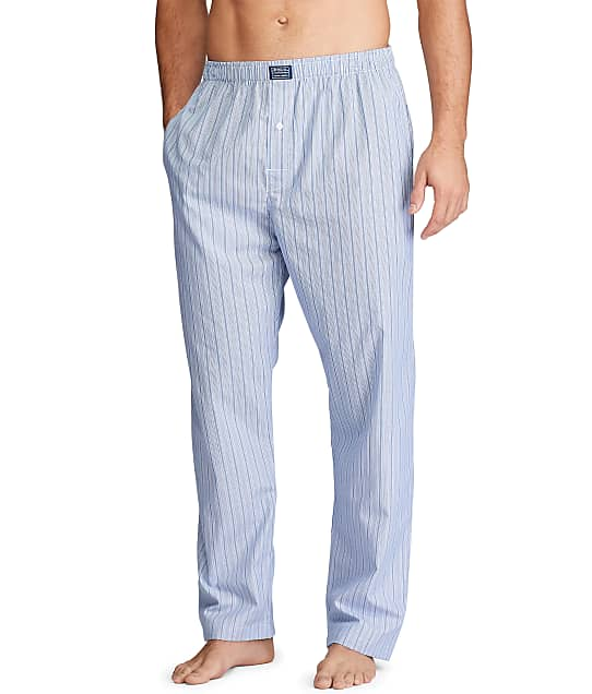Polo Ralph Lauren Woven Pajama Pants in Anderson Stripe(Front Views) R168