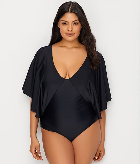 Raisins Curve: Plus Size Samba Stingray One-Piece