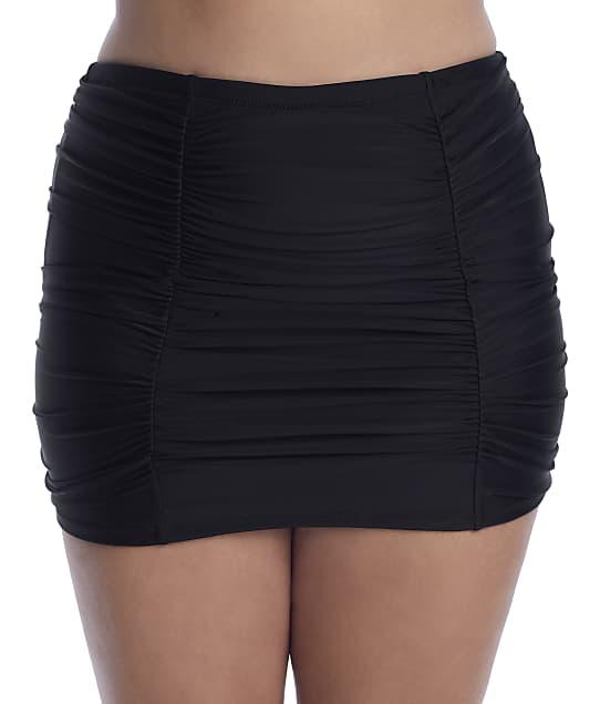 Raisins Curve: Alicante Solids Costa Skirted Bikini Bottom