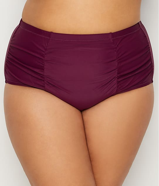 Raisins Curve: Plus Size Sayulita Solids Costa Bikini Bottom