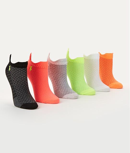 Ralph Lauren: Double Tab No Show Socks 6-Pack