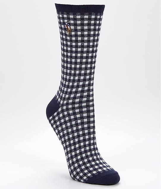 Ralph Lauren: Gingham Trouser Socks