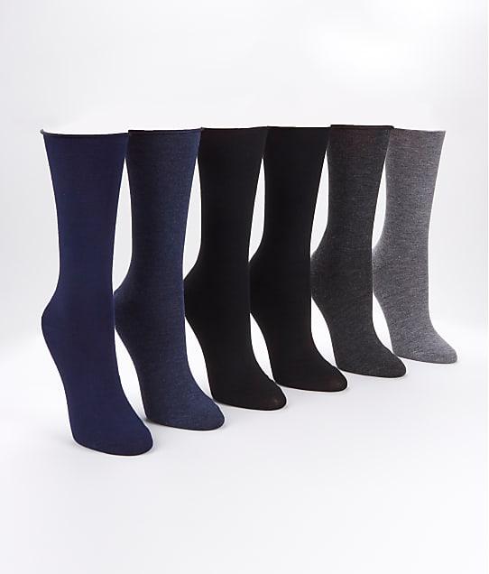Ralph Lauren: Roll-Top Trouser Socks 6-Pack