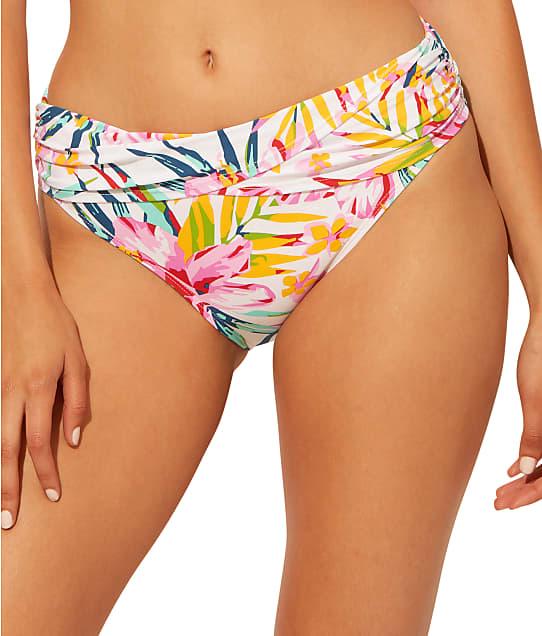 Bleu Rod Beattie Beachy Keen Sarong Hipster Bikini Bottom in Multi(Front Views) RBBK21532