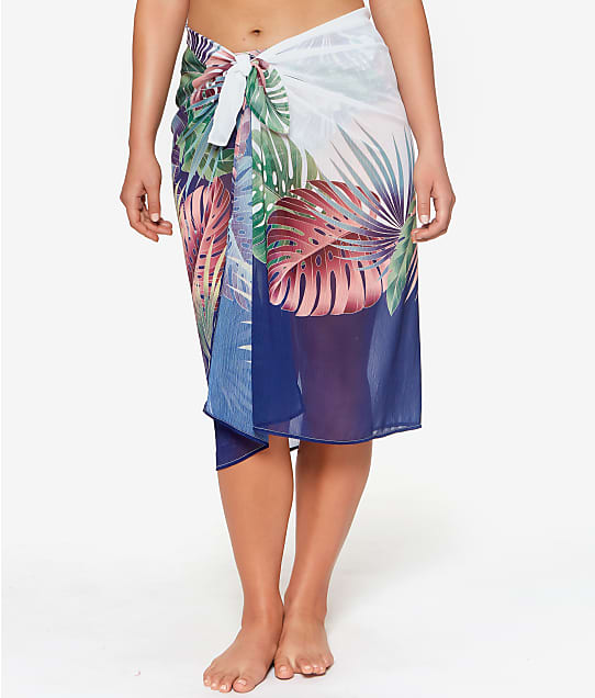 Bleu Rod Beattie Its A Breeze Sarong Cover-Up in Multi RBBZ22817