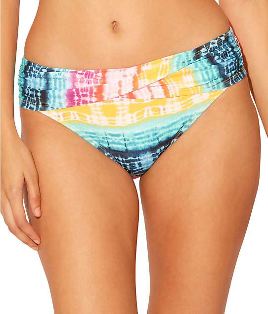 Bleu Rod Beattie Good Vibrations Sarong Bikini Bottom in Multi RBGV21532