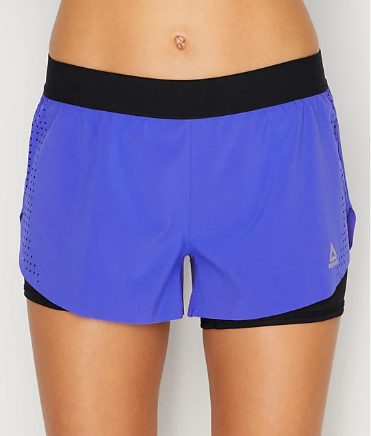 Reebok: 2-in-1 Perforated Shorts