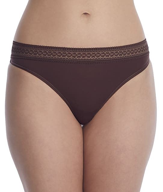 Reveal Modal Thong in Chocolate(Front Views) REEP21