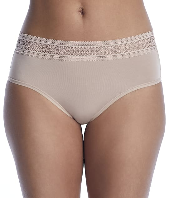 Reveal Modal Hi-Cut Brief in Sand(Front Views, Nude) REEP24