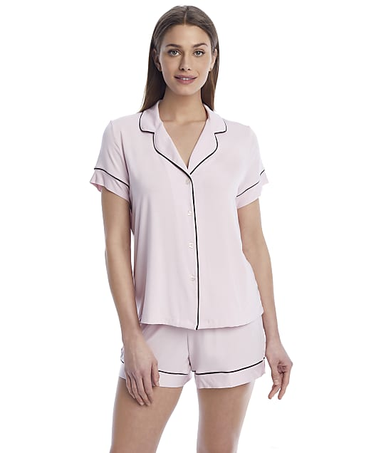 Reveal Modal Short Pajama Set in Blush(Full Sets) REES20