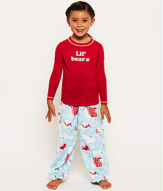 Karen Neuburger: Kids Unisex Lil' Bear Fleece Pajama Set